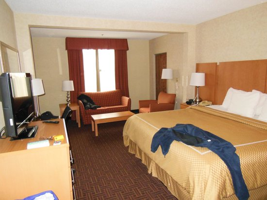 Comfort Suites Winston Salem/ Hanes Mall: Comfortable Room