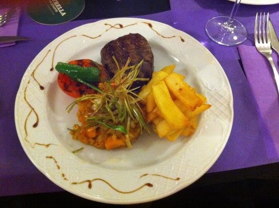 Porto Giglio Restaurante : Fillet steak cooked to perfection