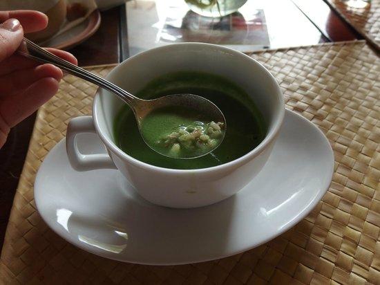 Jetwing Ayurveda Pavilions: Sri Lankan breakfast - herbal porridge