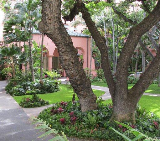 The Royal Hawaiian, a Luxury Collection Resort: Through the Garden