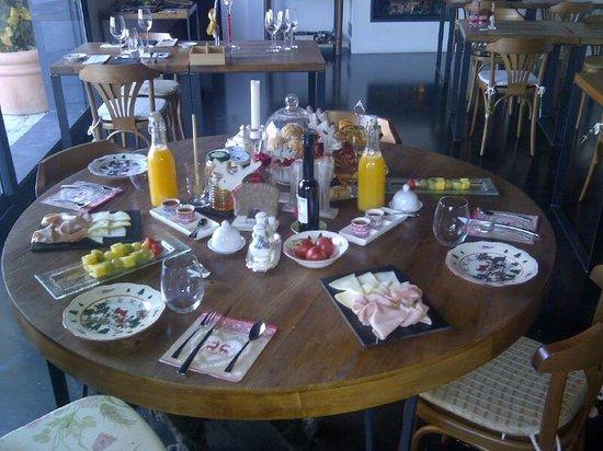 SAÓ Hotel: Desayuno súper-especial, increíble la cocinera Esther.