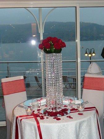 Le Bistrot de l'Amandier: table des mariés