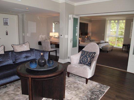 Fancourt: living room