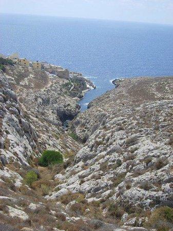 Alexandra Hotel Malta: Panorama da un museo