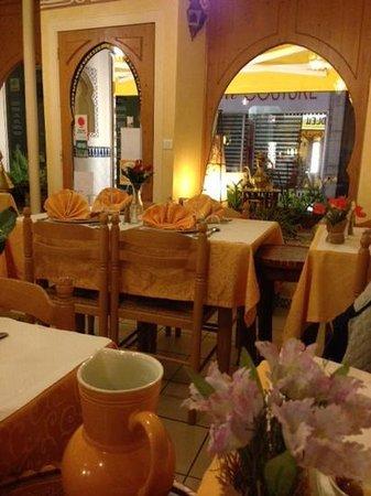 Le Nil Bleu : la salle à manger