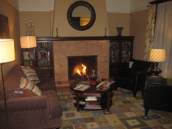Parker Guest House : The front parlor last July.