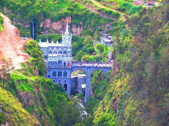 Las Lajas Sanctuary: Spanning the River Gorge