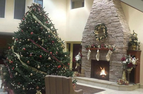 Comfort Inn & Suites: Happy Holidays from Saratoga!