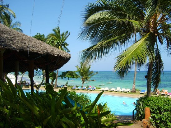 Baobab Beach Resort & Spa: Great views from the hotel