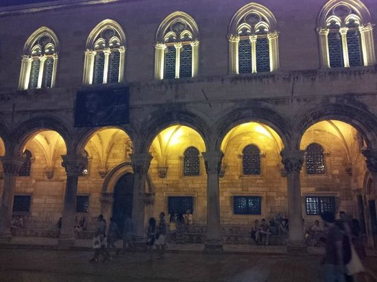Rector's Palace: by night
