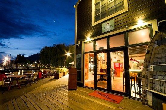 Outside Terrace Public Kitchen U0026 Bar