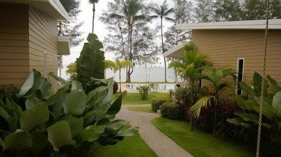 Rimlay Villas: Aussicht vom Bungalow aus zweiter Reihe