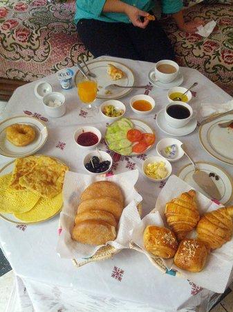 Dar Dalila : Breakfast!