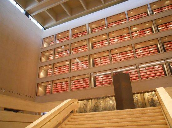 LBJ Presidential Library: Archive shelves
