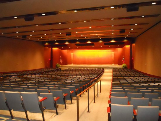 LBJ Presidential Library: The Lady Bird Johnson auditorium