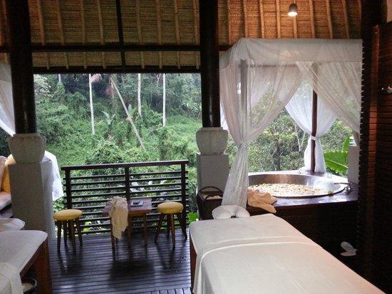 Maya Ubud Resort & Spa: One of the spa chalets