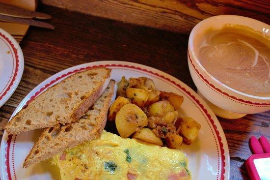 La Boulange de Fillmore : paris omelet