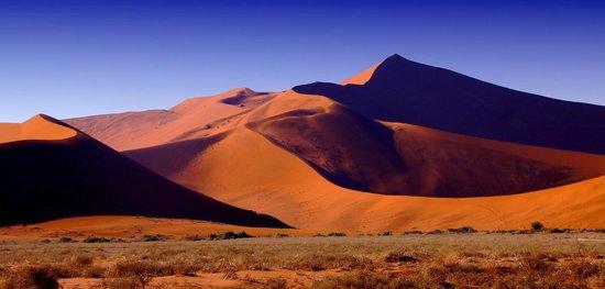 Namib-Naukluft Park, Namibië: Big Daddy vue depuis Sossusvlei
