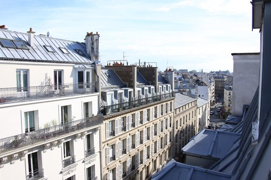 Hotel France Albion : A room with a view