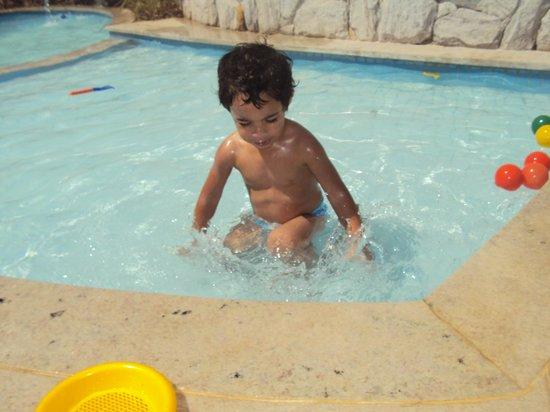 Corais e Conchas: piscina