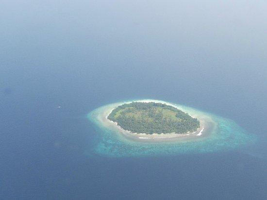 Kuredu Island Resort & Spa : vue de l'hydravion