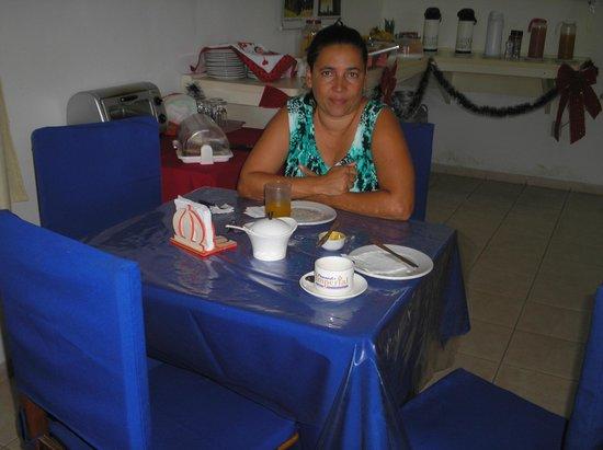 Pousada Canaa: Café da manhã