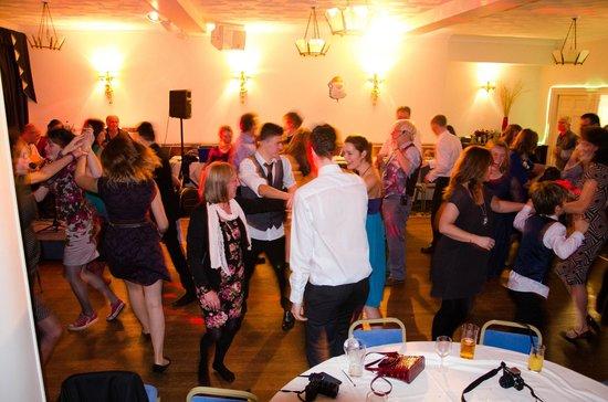 Ventnor Towers Hotel: Dining room - Barn Dance
