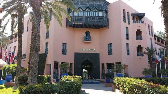 Hotel Marrakech le Tichka: Hotel Front