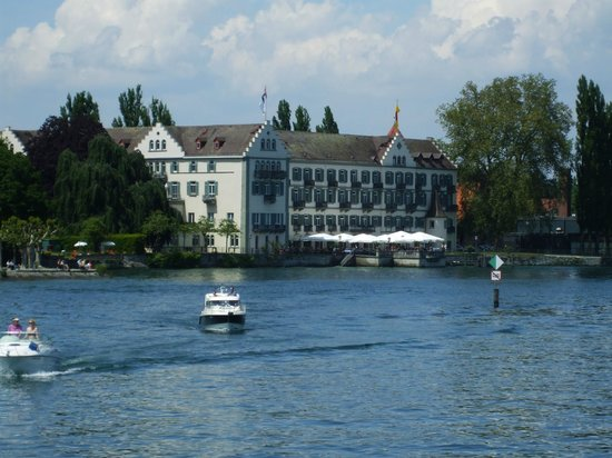 Constance Harbour: View from lake Konstanz
