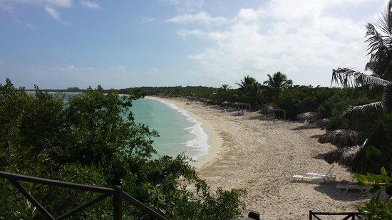 Villa Las Brujas: spiaggia Las Brujas