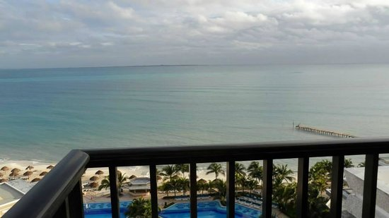 Hotel Riu Caribe: view from the room