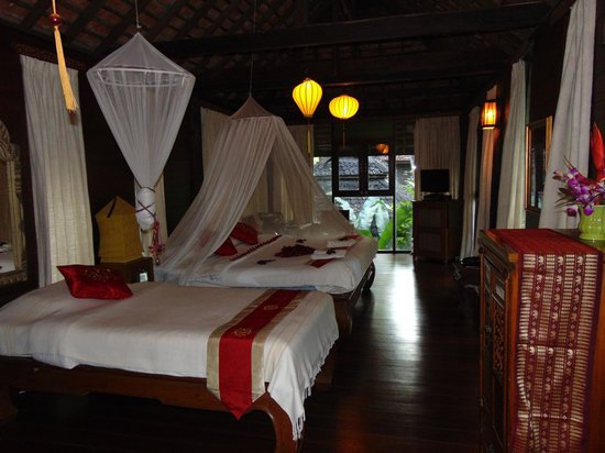 Ban Sabai Spa Village : A Lanna spa villa