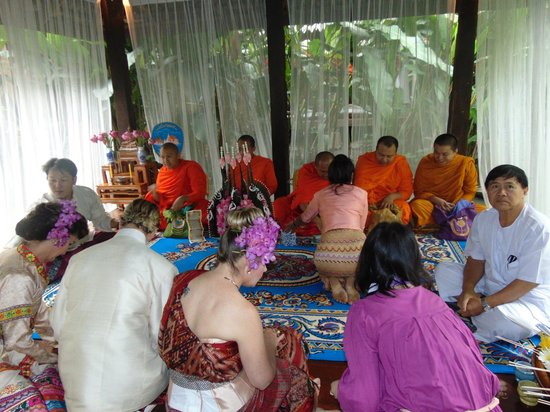 Ban Sabai Spa Village : The ceremony