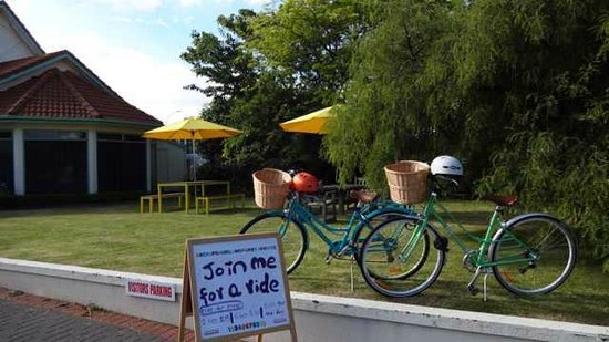 Rotorua Coachman Spa Motel: Join me for a ride around Rotorua