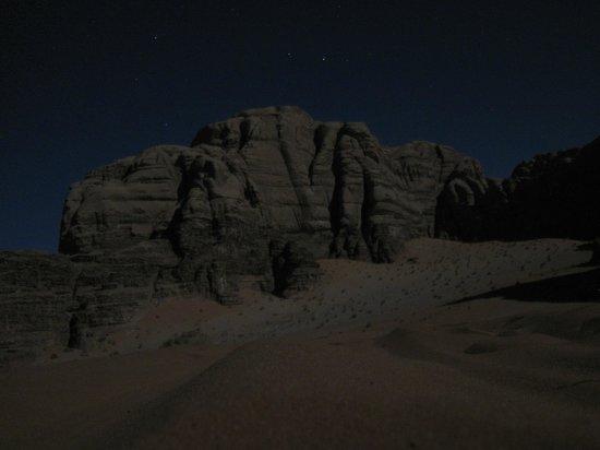 Wadi Rum Natural Wonder: Night time
