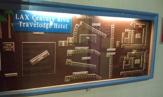 Travelodge Hotel LAX Los Angeles Intl: Схема