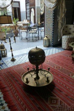 Riad Kettani : vistas desde una habitación