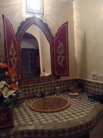 Riad Kettani FES : baño