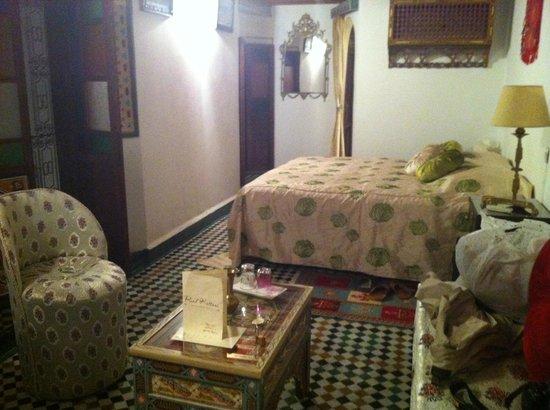 Riad Kettani: Habitación Fátima