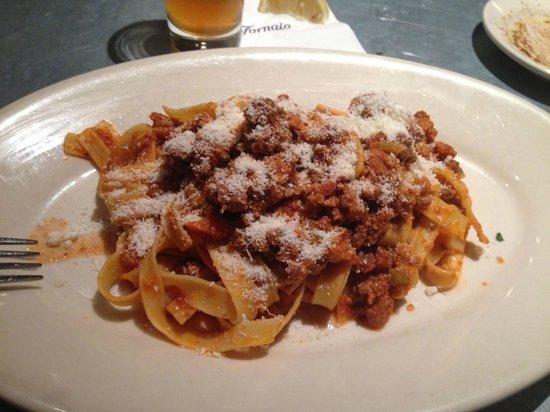 Il Fornaio: Tagliatelle alla Bolognese