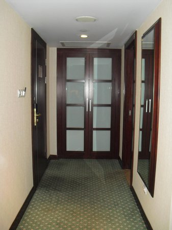 Sheraton Ningbo Hotel : Room entrance