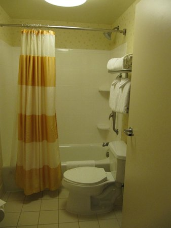 SpringHill Suites Norfolk Old Dominion University: Clean bathroom