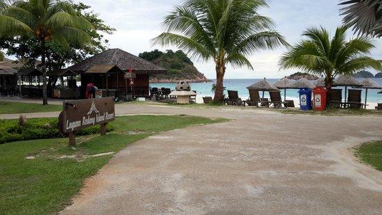 Laguna Redang Island Resort: Arrival area