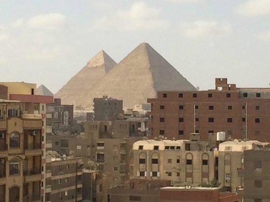 Gawharet Al Ahram Hotel: Vista desde el Restaurante