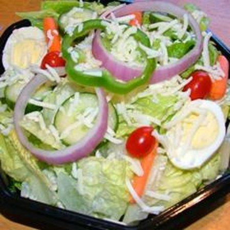 Pizza 9: FRESH Garden Salad