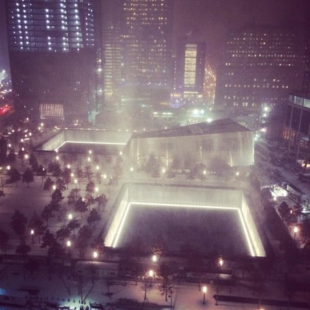 World Center Hotel: From the rooftop bar.