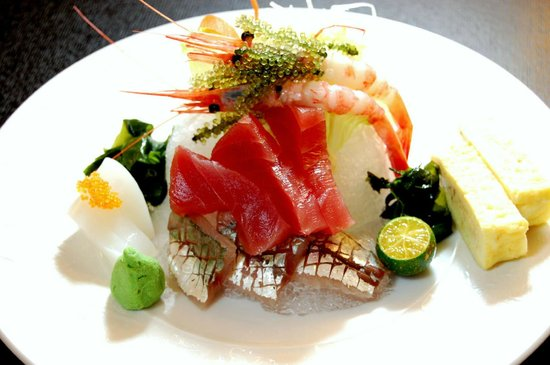 Azabu Restaurant: Chef's Sashimi Selection