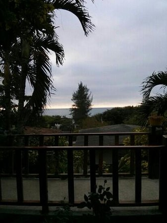 Xanadu Hotel: view from room 5