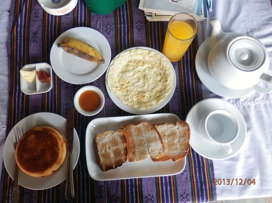 Shwe Ya Minn Guesthouse: It is a good breakfast.