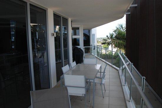 Oceans Mooloolaba : Side Balcony
